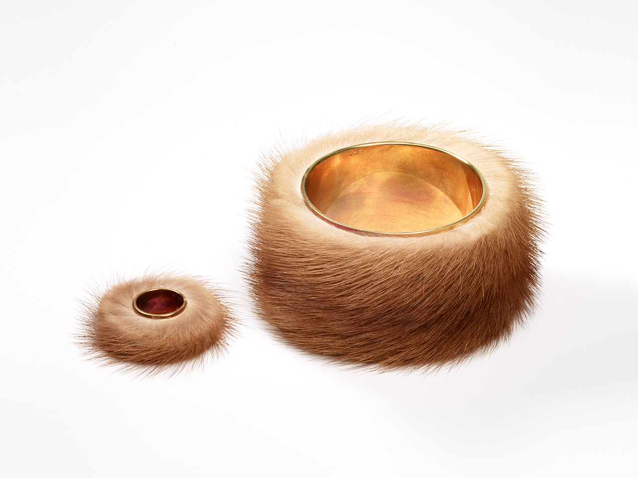 Meret Oppenheim Fur Ring Collection Jewellery By
